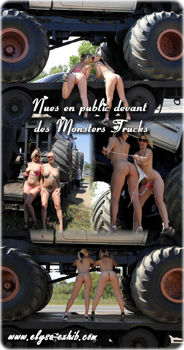 040712 Nues en public devant des Monsters Trucks