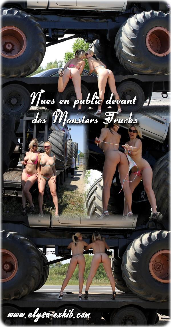 040712 Nues en public devant des Monsters Trucks