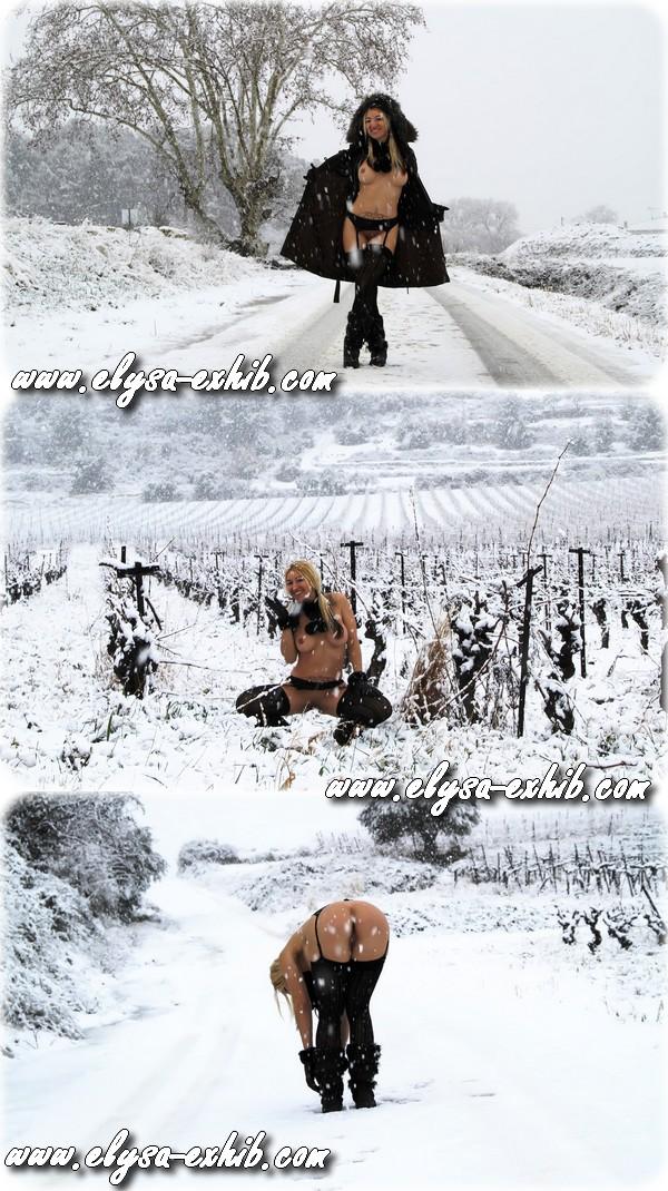 000139 Nue sous la neige