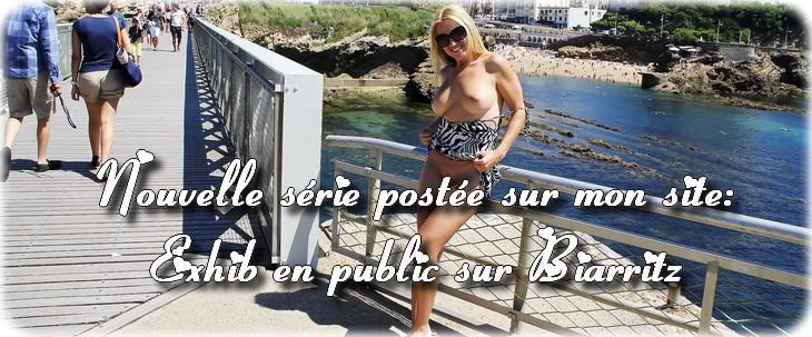 0013 Exhib en public sur Biarritz