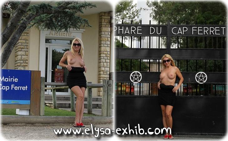 200713a Exhib et nue au Cap Ferret