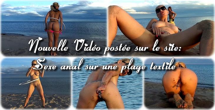 plage nudiste exhibitioniste