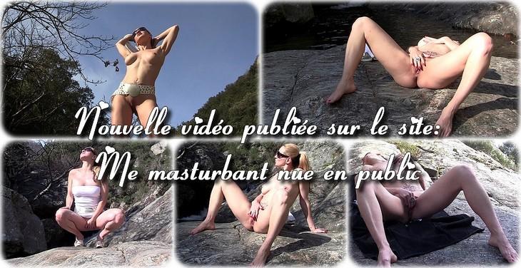 0045 Me masturbant nue en public