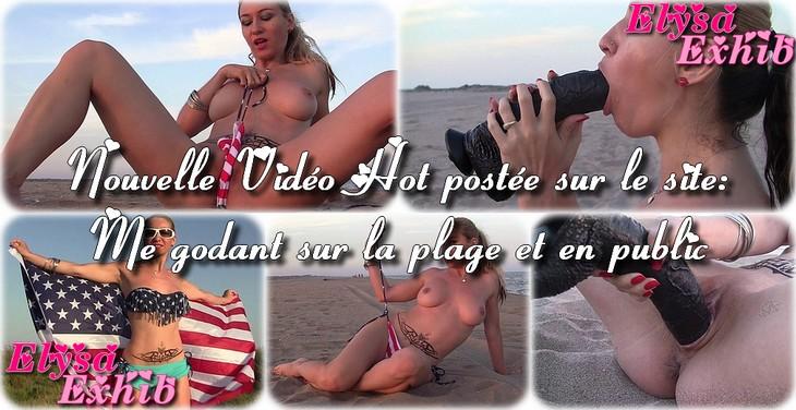 0016 Me godant nue sur la plage