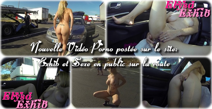 011 Exhib et Sexe en public sur la route
