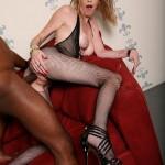 Allie James white slut for BBC