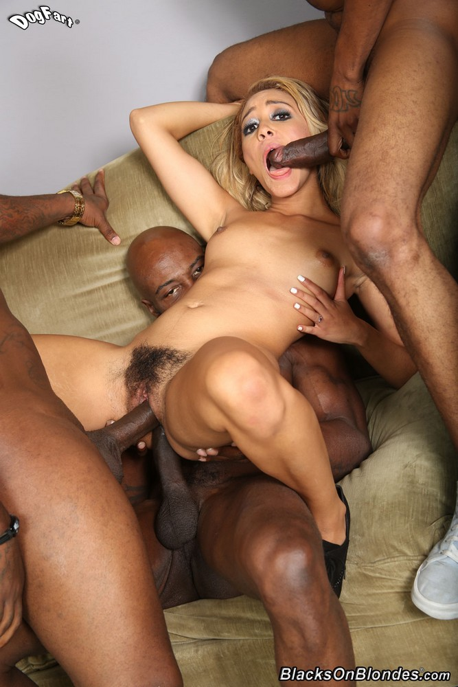 Brooke wylde having her first interracial threesome 1