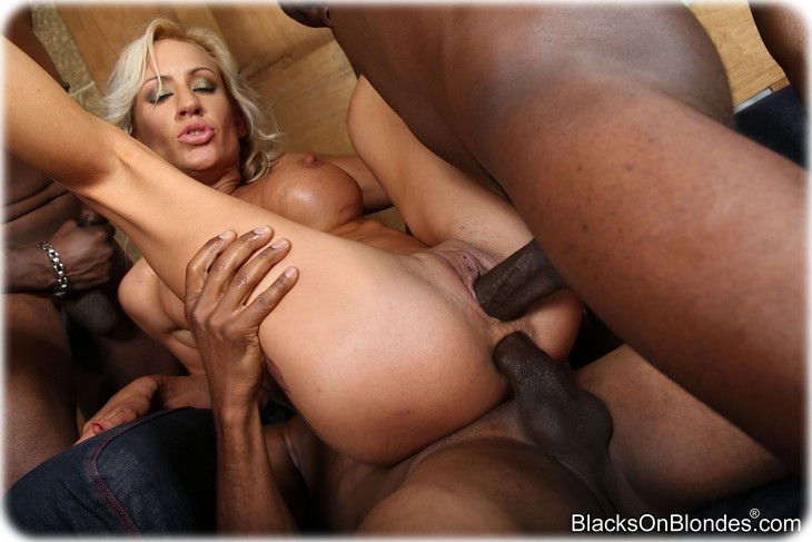 224 Zoey Portland gets gangbanged by several black men