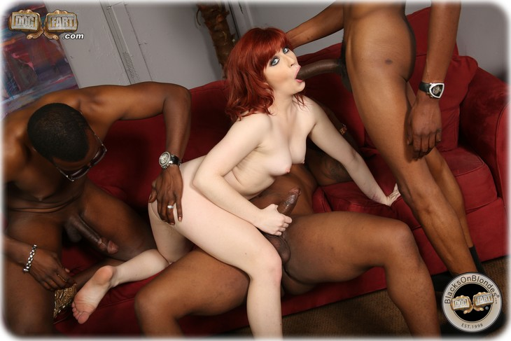 Sadie Kennedy gangbanged by several black guys