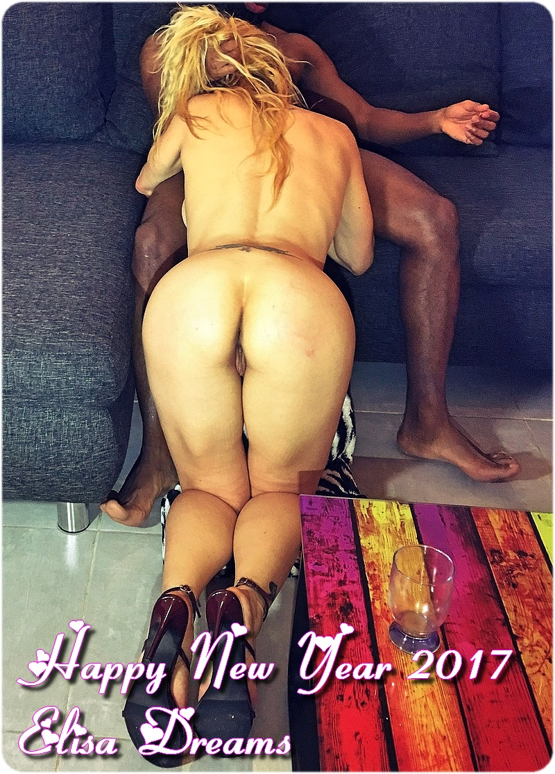 Happy New Year 2017 with my Slut