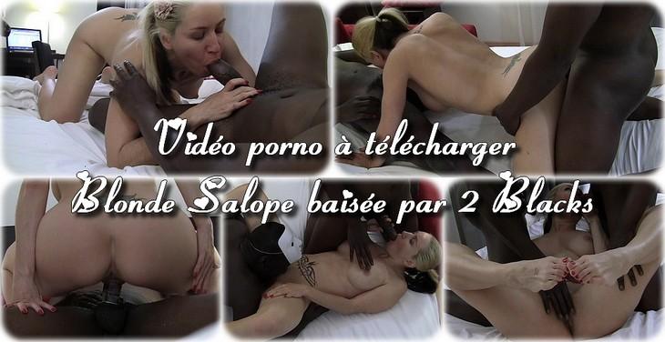 251013 Blonde salope baisée par 2 blacks
