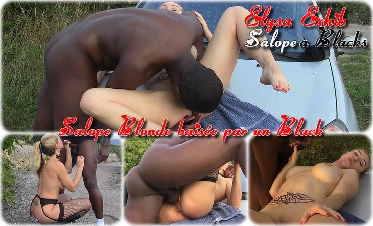 0028 Salope blonde baisée par un black